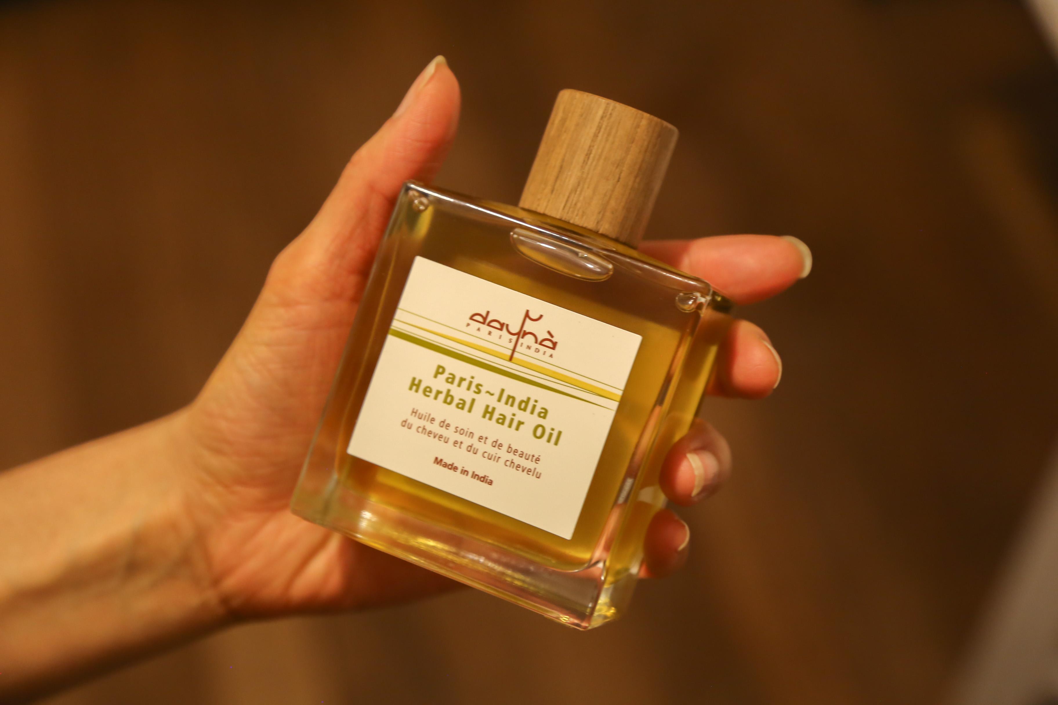 huile pour cheveu dayna