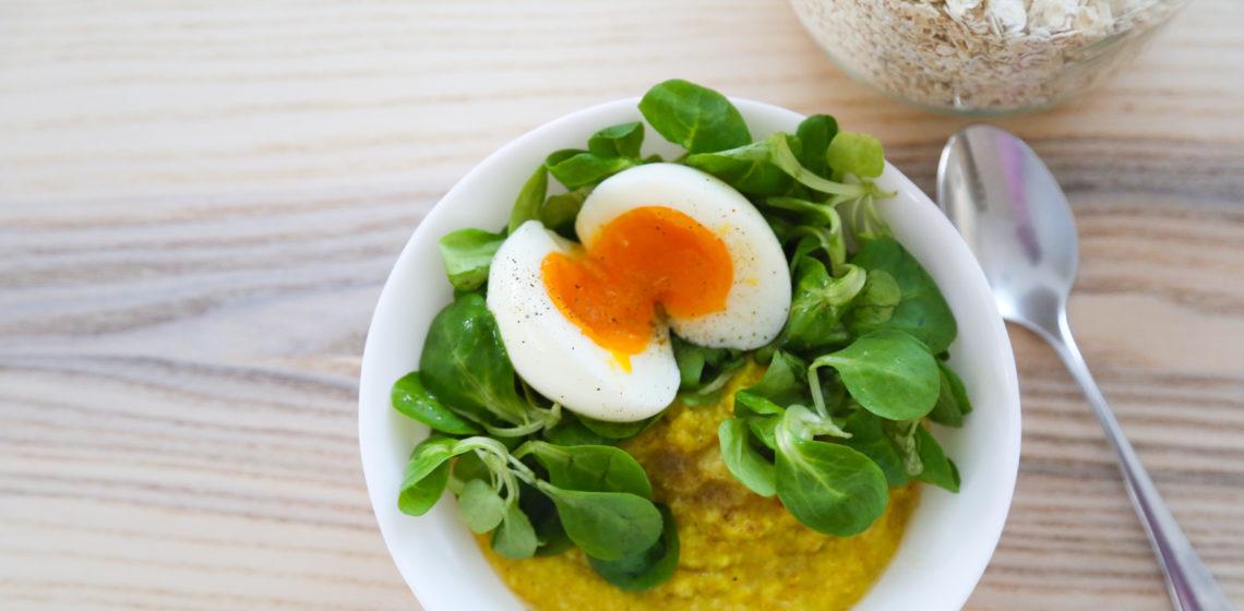porridge salé anti-inflammatoire